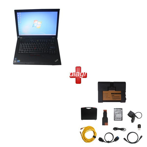 Super BMW ICOM A2 BMW Diagnostic Tools With  2018.7V HDD Plus Lenovo T410 Laptop Support Multi Languages