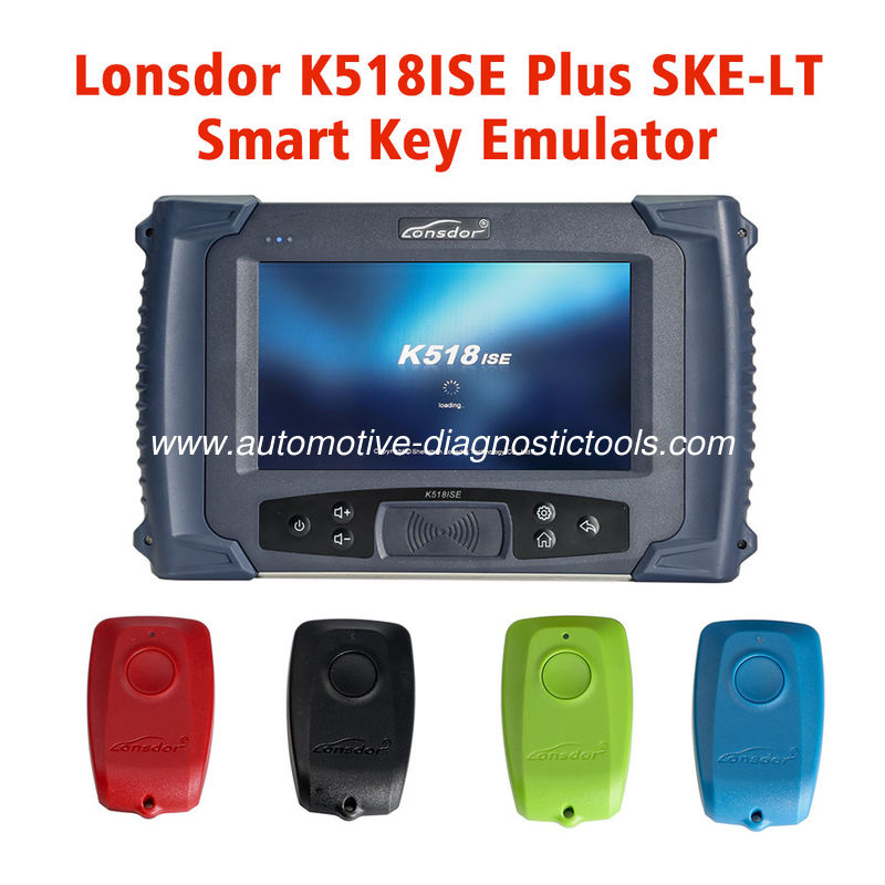 100% Original Lonsdor K518ISE Car Key Programmer Program Toyota/Lexus Smart Key for All Key Lost via OBD